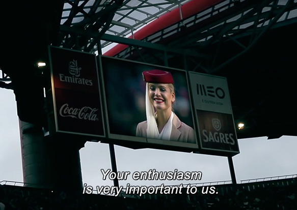 Benfica Safety video – Emirates