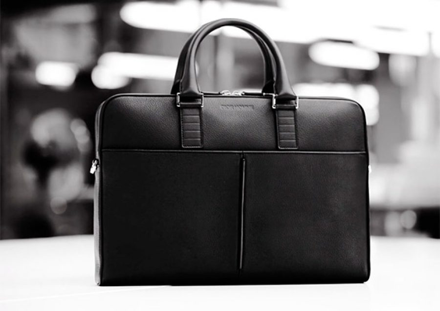 Dior Leather Briefcase