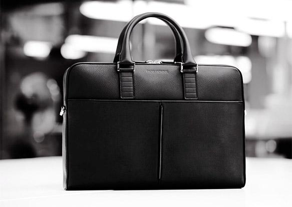 Dior Leather Briefcase