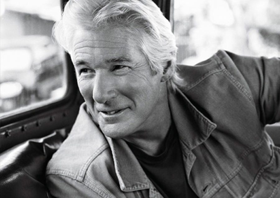 Richard Gere with Bruce Weber